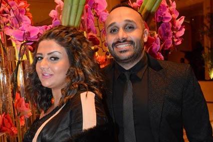 """رامي صبري يحتفل بنجاح ألبومه """"أجمل ليالي عمري"""" مع نجوم الفن"""