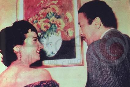 صور طريفة تستعرض قصة حب شادية وعماد حمدي.. هذه الصورة قبل طلاقهما بأيام