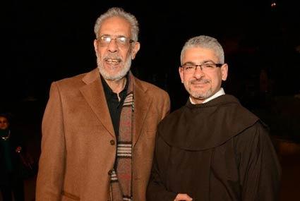 27 صورة من افتتاح مهرجان الكاثوليكي- ظهور نادر لسعيد عبد الغني وتكريم صفاء أبو السعود