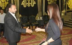 أحمد العيسوي يتلقى العزاء في وفاة شقيقه و5 من أسرته