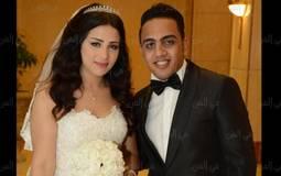 """محمد أسامة  """"أوس أوس"""" وعروسه"""