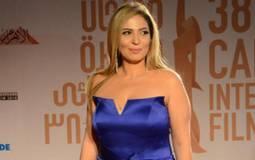نهلة سلامة في حفل ختام مهرجان القاهرة السينمائي 38