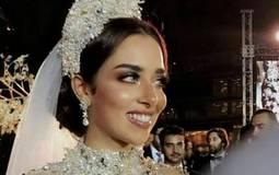 حفل زفاف بلقيس على زوجها سلطان عبد اللطيف