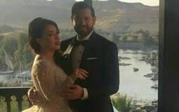 بالصور- مشاهير الوسط الفني يهنئون كندة علوش وعمرو يوسف بعد حفل زفافهما بكلمات رقيقة