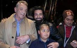 """عمرو عابد ومحمود حميدة في العرض الخاص لـ """"يوم من الأيام"""""""