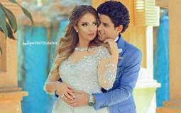 """دينا """"ويزو"""" تنشر أول صورة من حنة إسراء عبد الفتاح"""