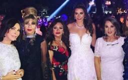 حفل زفاف حبيبة ابنه إيناس الدغيدي