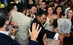 اندماج ويزو وشريف حسني في الرقص