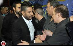 محمد حماقي حرص على الحضور رغم وفاة والده قبل أيام