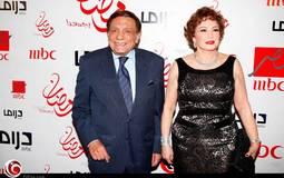 """بالصور: عادل إمام وهند صبري و""""الخديو"""" في سحور مجموعة MBC"""