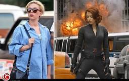 """كيف أدت """"الحامل"""" سكارليت جوهانسون مشاهد حركة فيلم Avengers 2؟"""