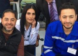 """قصة حب تجمع بين حمادة هلال وإيمان العاصي في مسلسل """"قانون عمر"""""""
