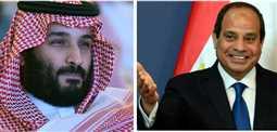 """السيسي يدعو ولي العهد السعودي محمد بن سلمان لحضور """"سلم نفسك"""""""
