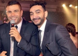 عمرو دياب ونادر حمدي