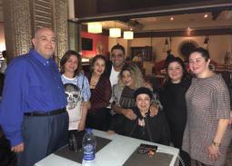 بالصور والفيديو- بوسي شلبي تحتفل بعيد الأم مع بوسي ونورا وإلهام شاهين وعماد الدين أديب