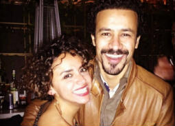 بالصور- رسالة رومانسية من علا رشدي لأحمد داود في عيد ميلاده