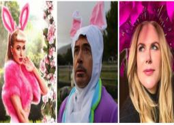 بالصور والفيديو- هكذا احتفل مشاهير هوليوود بأعياد الربيع.. إثارة مايلي سايرس