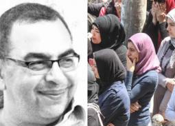 """بالصور- كل هذا الحب يا أحمد خالد توفيق.. جنازة صاحب """"يوتوبيا"""" تجيب عن السؤال: أين الشباب؟"""