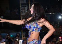 بالصور- الراقصة زفينا التلميذة اليابانية لصافيناز.. تظهر معها في حفل بشرم الشيخ
