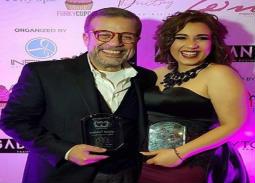 بالصورة- أسما شريف منير تشارك والدها في تقديم برنامج جديد
