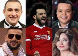 الفنانون يهنئون محمد صلاح بعد فوزه بجائزة أفضل لاعب في الدوري الإنجليزي