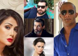 بالفيديو والصور- شكل جديد لأبطال مسلسلات رمضان 2018.. ياسر جلال وغادة ونور ونجوم بالجلباب الصعيدي