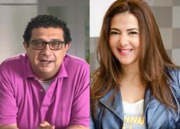 بالفيديو- دنيا سمير غانم وماجد الكدواني يعلنان عن مفاجأة سارة لجمهورهما في رمضان