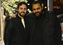 بالفيديو- هشام ماجد وشيكو ضمن حضور حفل عمرو دياب في روسيا