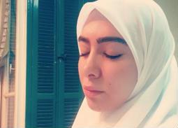 بالصور- ميرهان حسين تفاجئ الجمهور بإطلالتها بالحجاب