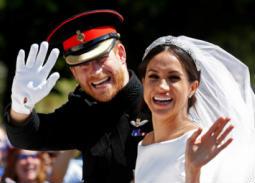 الأمير هاري وعروسه ميجان ميركل