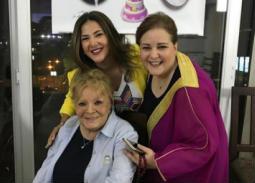 دنيا سمير غانم عن صورتها مع نادية لطفي: دخلت التاريخ