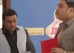"""صورة- أكرم حسني عن محمد جمعة: """"طلع بيضحك أهه"""""""