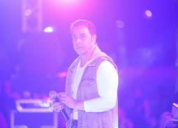 مدحت صالح أثناء أحياء الحفل