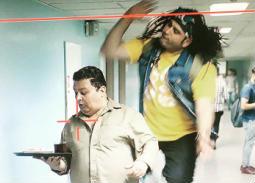 """أكرم حسني يكشف سر قفزته العالية في مسلسل """"الوصية"""""""