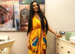 سالي عبد السلام تكشف عن مرضها الذي تسبب في تساقط شعرها