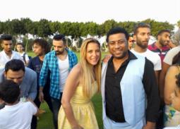 محمد جمعة وريم مصطفى
