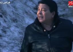 """بالفيديو - أحمد أدم يصاب بالرعب في """"رامز تحت الصفر"""" ورامز جلال يوقف الحلقة خوفاُ على حياته"""