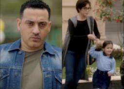"""دياب يهدد غادة عبد الرازق بقتل ابنتها الصغيرة في الحلقة (28) من مسلسل """"ضد مجهول"""