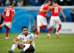 المشاهير يعبرون عن حزنهم بهزيمة منتخب مصر أمام روسيا