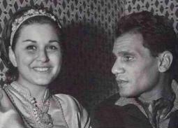 عبد الحليم حافظ وسعاد حسني.