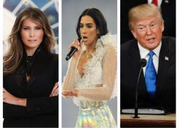 دوا ليبا تهاجم ميلانيا ترامب لارتدائها معطف أثار الجدل.. دونالد ترامب يرد