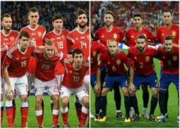 تعرف على القنوات الناقلة لمباراة إسبانيا وروسيا في كأس العالم والمعلقين عليها