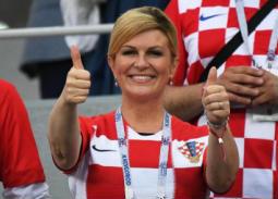 أبرز 12 صورة لـ رئيسة كرواتيا التي أثارت اهتمام الإعلام العالمي والعربي