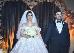 الصور الكاملة لحفل زفاف فرح علي ومحمد عبد المعطي.. تامر حسني وهيثم شاكر أبرز الحضور