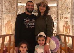صورة- هكذا علقت يارا نعوم على قرار زوجها عماد متعب باعتزال لعب كرة القدم