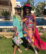 """بالفيديو- وفاء عامر تحمل """"محشي"""" معها على الطائرة لبوسي شلبي ورجاء الجداوي!"""