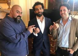 بالفيديو- حوار كوميدي ساخر جمع محمد صلاح مع شيكو وماجد