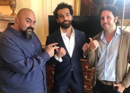 نشر الممثل شيكو صورته مع اللاعب محمد صلاح وصديقه هشام ماجد من الحوار الذي أجرياه مع اللاعب المصري المحترف في صفوف ليفربول الإنجليزي.