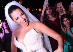 90 صورة من حفل زفاف ملكة جمال مصر السابقة ومقدمة البرامج إلهام وجدي