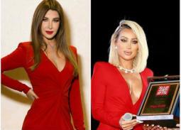 بالفيديو- نانسي عجرم تعلق على ارتداء مايا دياب لنفس فستانها